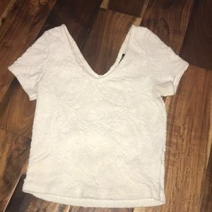 Perfect for summer! TOPSHOP short sleeved crop top